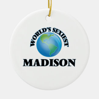 World's Sexiest Madison Ornaments