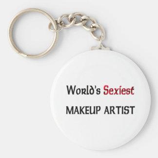 World's Sexiest Makeup Artist Key Chain