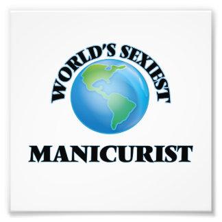 World's Sexiest Manicurist Photo