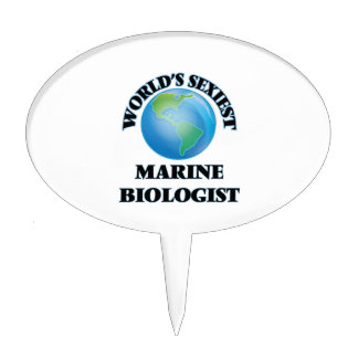 World's Sexiest Marine Biologist Cake Toppers