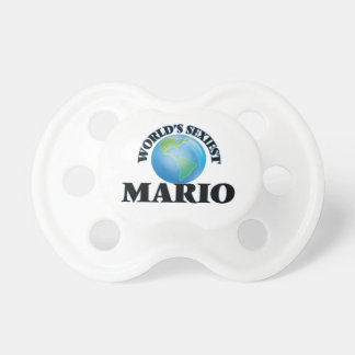 World's Sexiest Mario BooginHead Pacifier