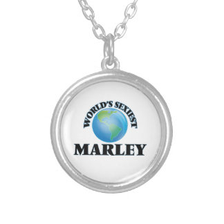World's Sexiest Marley Round Pendant Necklace