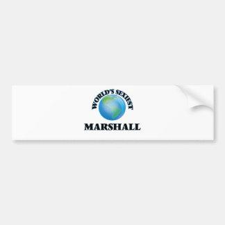 World's Sexiest Marshall Bumper Sticker