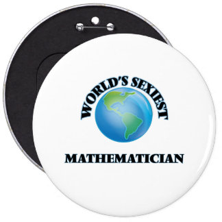 World's Sexiest Mathematician Pin