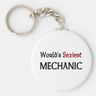 World's Sexiest Mechanic Key Chains