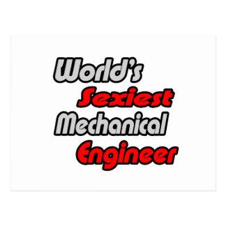 World's Sexiest Mechanical Engineer Postcard