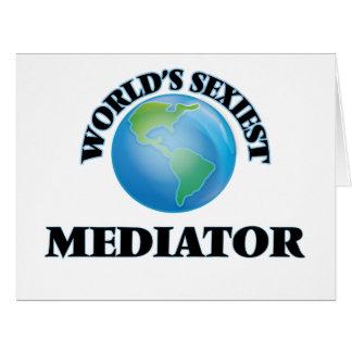 World's Sexiest Mediator Card