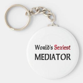 World's Sexiest Mediator Key Chain