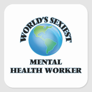 World's Sexiest Mental Health Worker Stickers