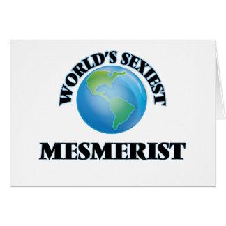 World's Sexiest Mesmerist Cards