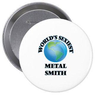 World's Sexiest Metal Smith Pin