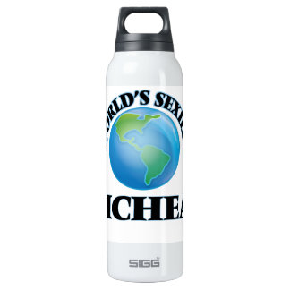 World's Sexiest Micheal 16 Oz Insulated SIGG Thermos Water Bottle