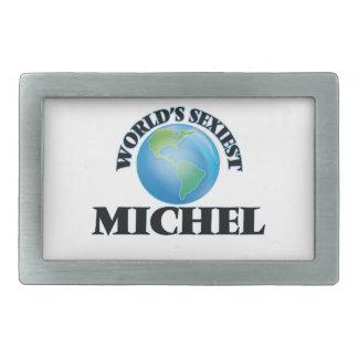 World's Sexiest Michel Rectangular Belt Buckle