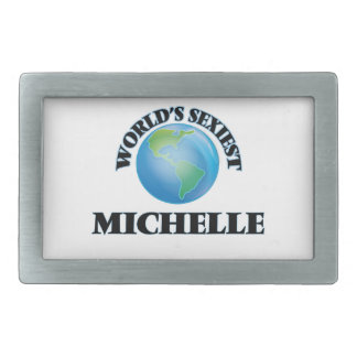 World's Sexiest Michelle Belt Buckles