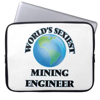 World's Sexiest Mining Engineer Computer Sleeve