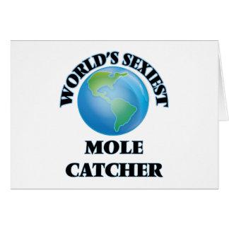 World's Sexiest Mole Catcher Card
