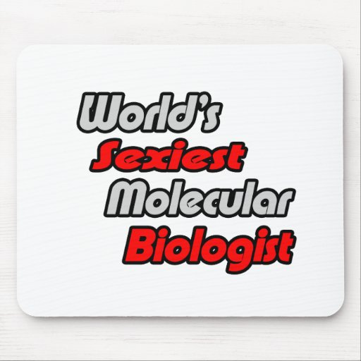 World's Sexiest Molecular Biologist Mouse Pad