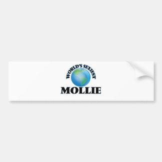World's Sexiest Mollie Car Bumper Sticker