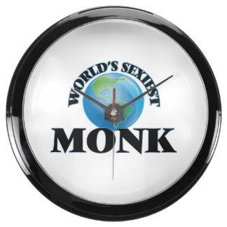World's Sexiest Monk Aquavista Clock