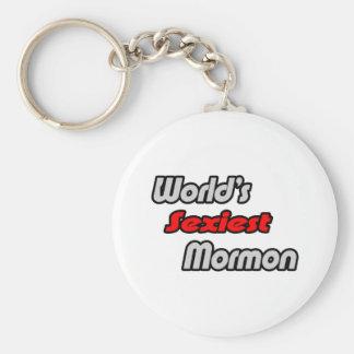 World's Sexiest Mormon Basic Round Button Keychain