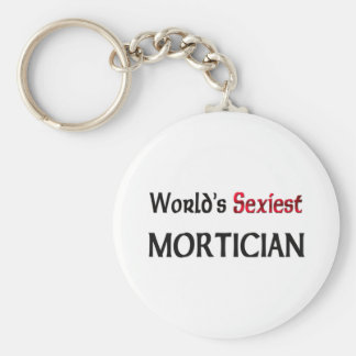 World's Sexiest Mortician Keychains