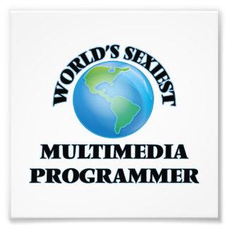 World's Sexiest Multimedia Programmer Photo Art