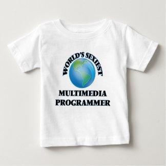 World's Sexiest Multimedia Programmer Tshirt