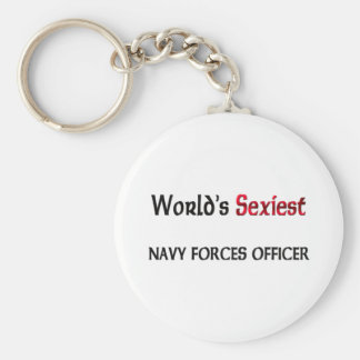 World's Sexiest Navy Forces Officer Key Chain