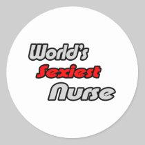 World's Sexiest Nurse Stickers