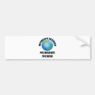 World's Sexiest Nursery Nurse Bumper Sticker
