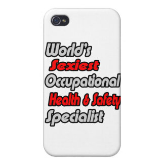World's Sexiest Occ Health and Safety Specialist iPhone 4 Cover