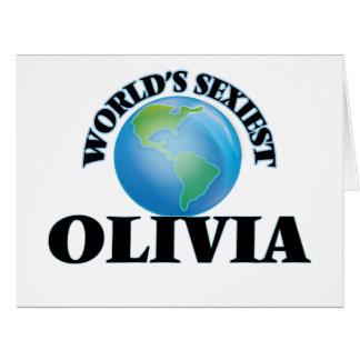 World's Sexiest Olivia Card