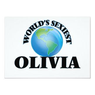 World's Sexiest Olivia Custom Announcements