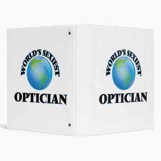 World's Sexiest Optician 3 Ring Binder