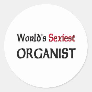 World's Sexiest Organist Sticker