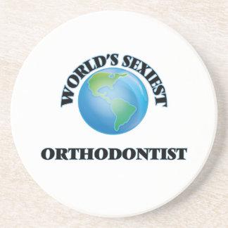 World's Sexiest Orthodontist Beverage Coasters