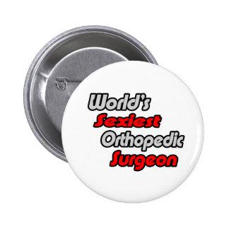 World's Sexiest Orthopedic Surgeon Button