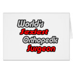 World's Sexiest Orthopedic Surgeon Cards