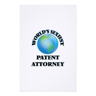 World's Sexiest Patent Attorney Customized Stationery