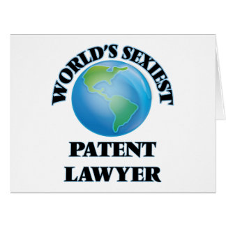 World's Sexiest Patent Lawyer Greeting Card