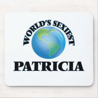 World's Sexiest Patricia Mouse Pads