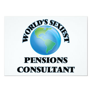 World's Sexiest Pensions Consultant Card
