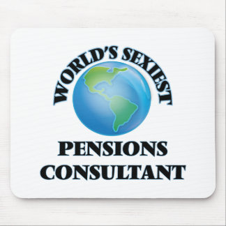 World's Sexiest Pensions Consultant Mouse Pad