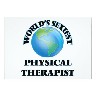World's Sexiest Physical Therapist Announcement