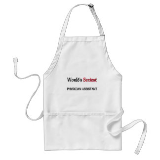 World's Sexiest Physician Assistant Adult Apron