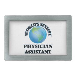 World's Sexiest Physician Assistant Rectangular Belt Buckles