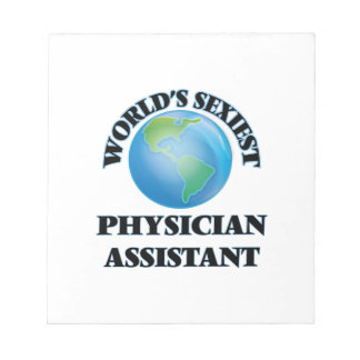 World's Sexiest Physician Assistant Note Pads
