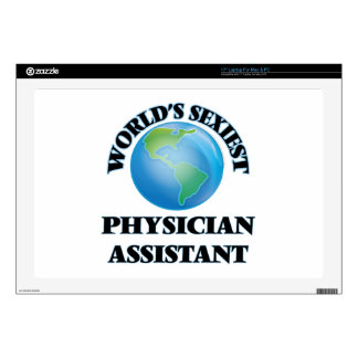 """World's Sexiest Physician Assistant Decal For 17"""" Laptop"""