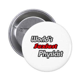 World's Sexiest Physicist Button