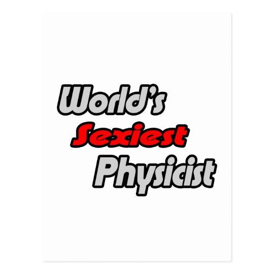 World's Sexiest Physicist Postcard